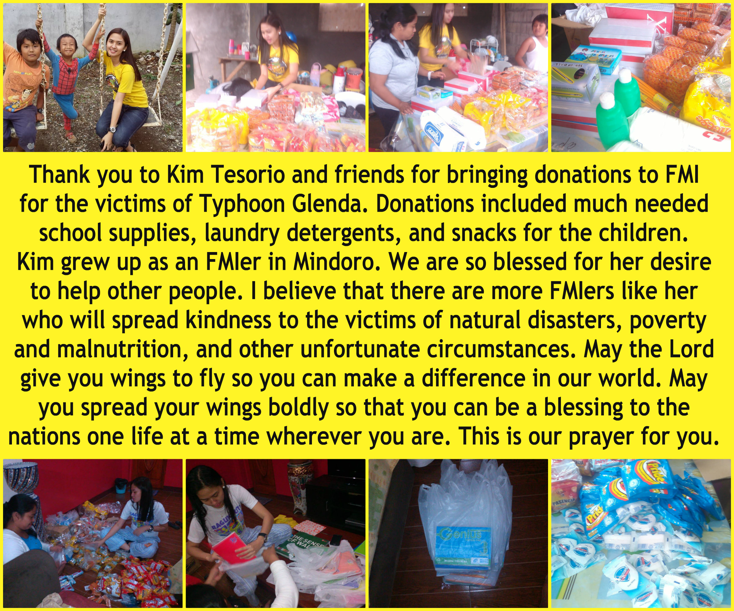 RECENT RELIEF PROGRAMS IN TAGAYTAY